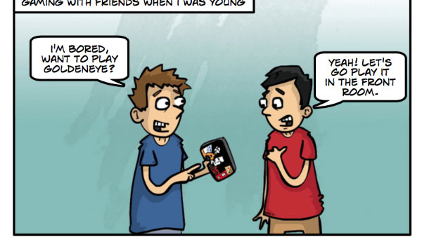 Gaming with Friends: Then and Now