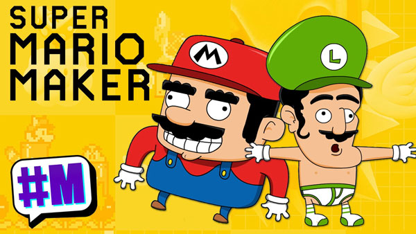 Game in 60 Seconds – Super Mario Maker