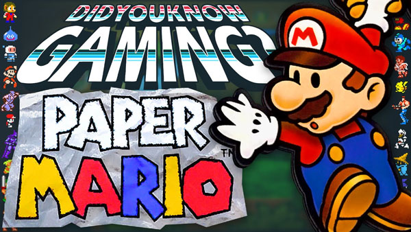 What You Didn't Know about Paper Mario