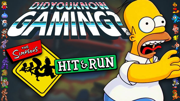 What You Didn't Know about The Simpsons Hit & Run