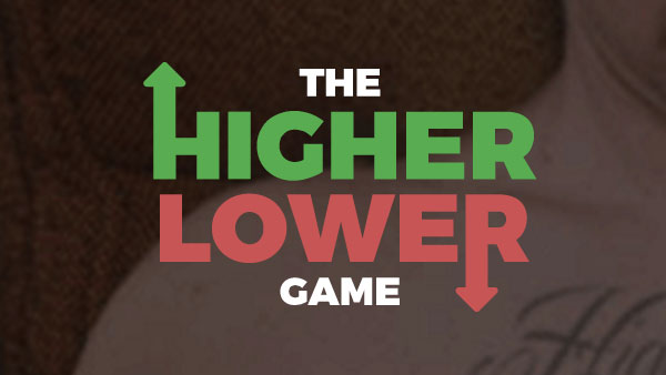The Higher Lower Game - A Video Games Game - Dueling Analogs