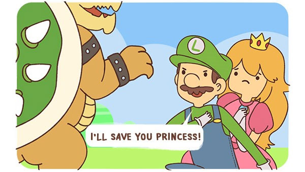 Luigi to the Rescue!