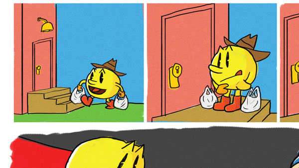 Pac-Man Misadventures