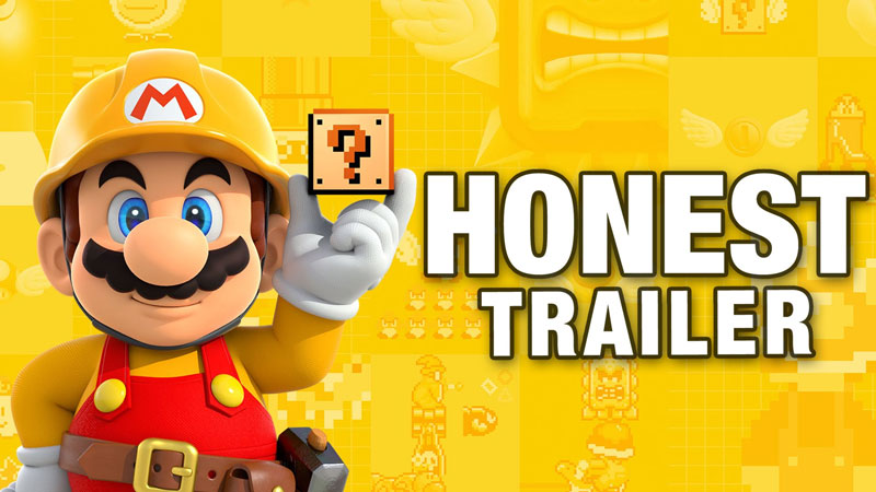 An Honest Super Mario Maker Game Trailer