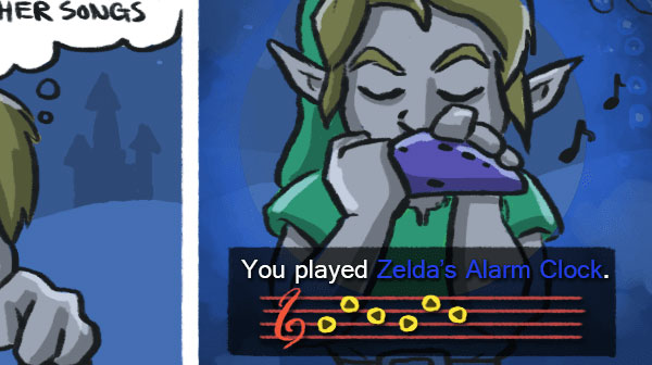 What if you play Zelda's Lullaby backwards?