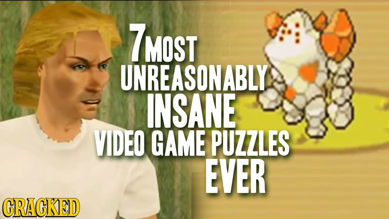 Seven Video Game Puzzles That Made No Friggin' Sense