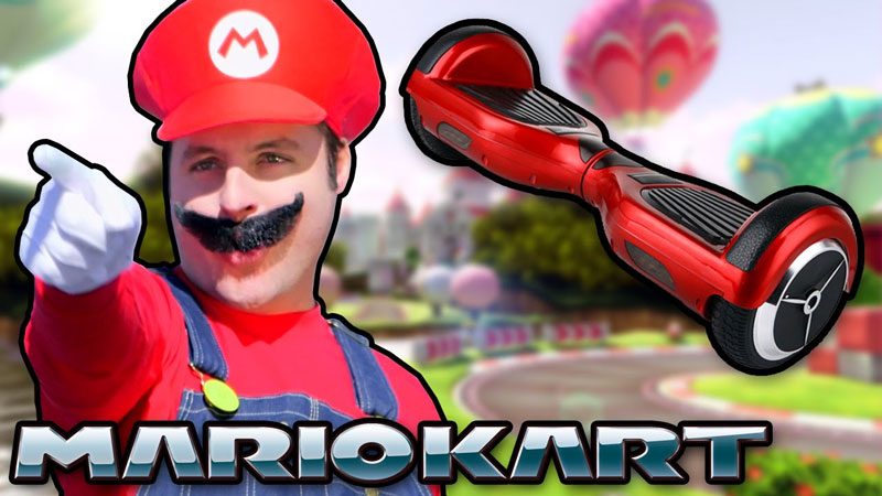 Mario Kart with 'Hoverboards'