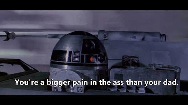 When R2-D2 Gets Captions