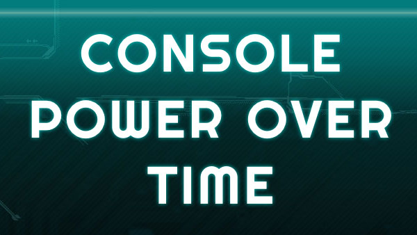 Console Power Over Time
