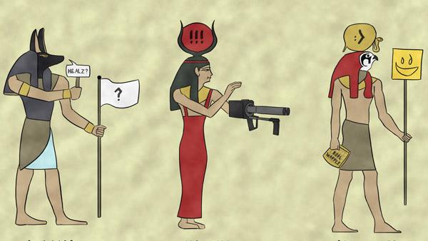 The Egyptian Gaming Pantheon