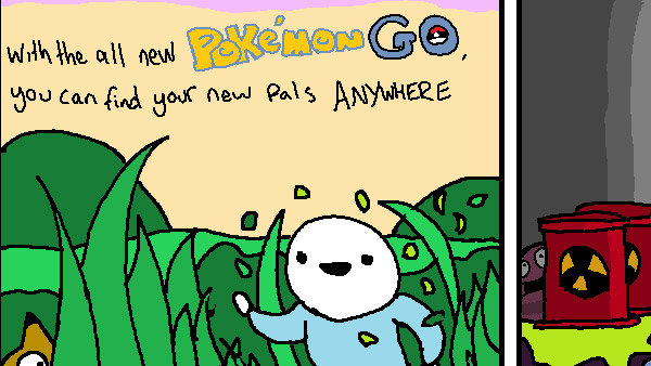Oh, The Places You'll Pokémon GO!