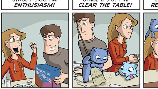 The Four Stages of Playing a New Board Game