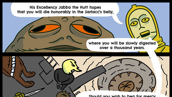 If the Sarlacc could tell its story…