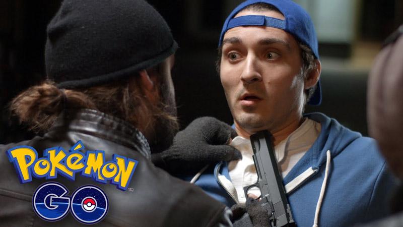 Pokémon GO Robbery