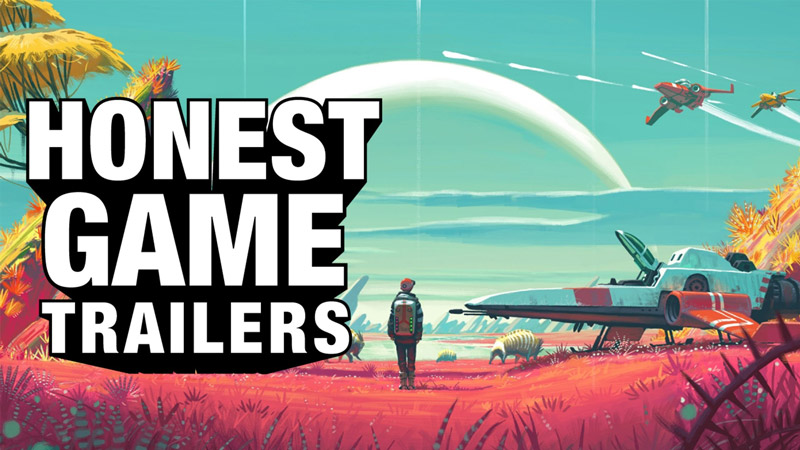 An Honest No Man's Sky Game Trailer