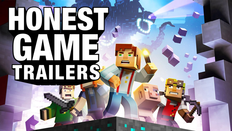 An Honest Minecraft: Story Mode Game Trailer