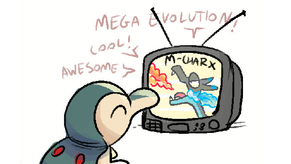 Mega Evolutionary Aspirations