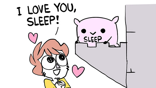I Love You, Sleep