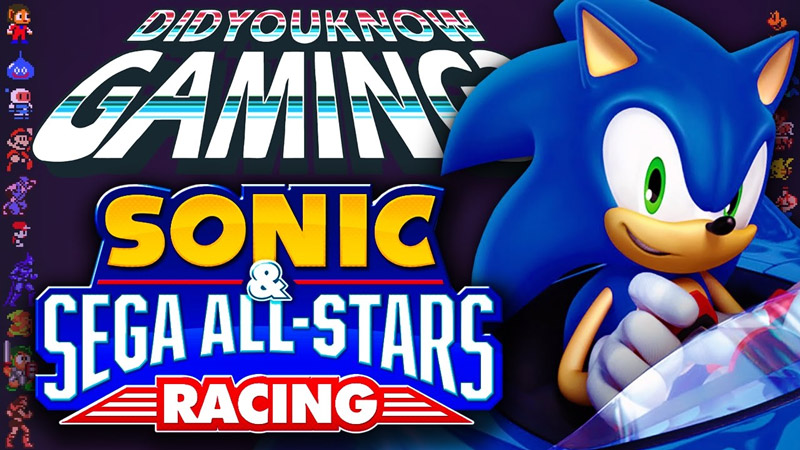 What You Didn't Know about Sonic & Sega All-Stars Racing