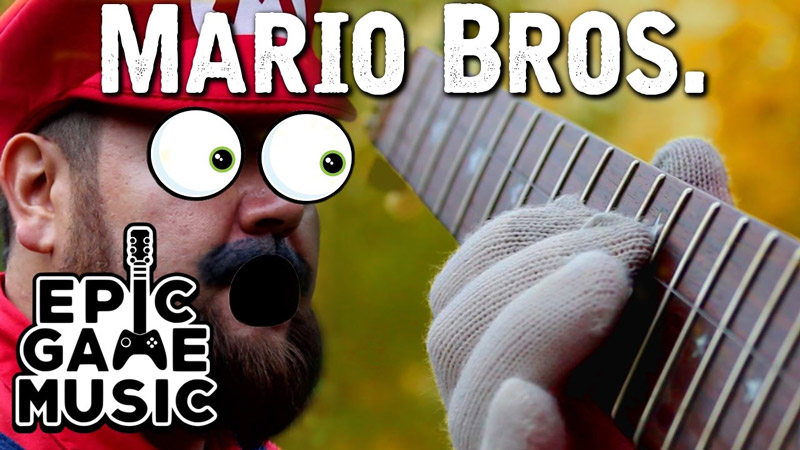 Super Mario Bros. Theme on One String