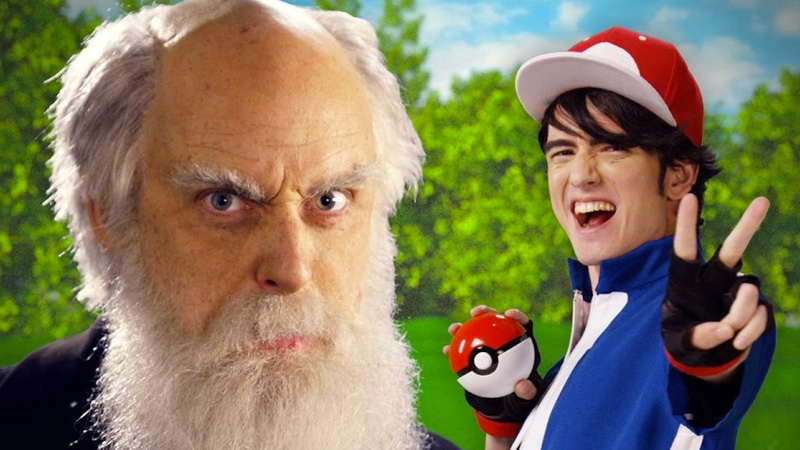 Rap Battle: Ash Ketchum vs. Charles Darwin