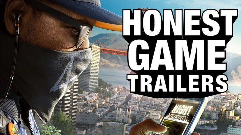 An Honest Watch Dogs 2 Games Trailer