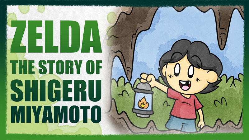 The Story of Shigeru Miyamoto, and the Cave of Adventure