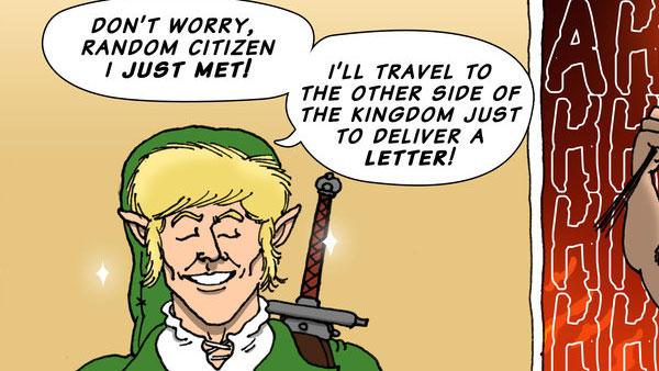 Zelda Then and Now