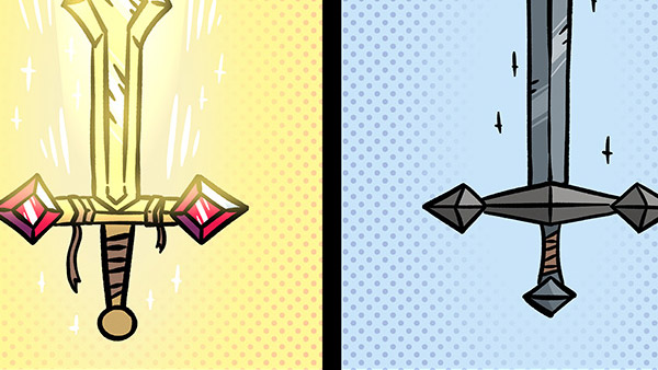 A Terribly Unhelpful Guide to Swords