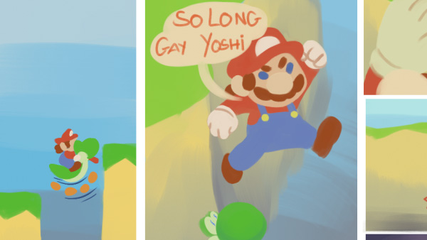 So Long, Gay Yoshi…
