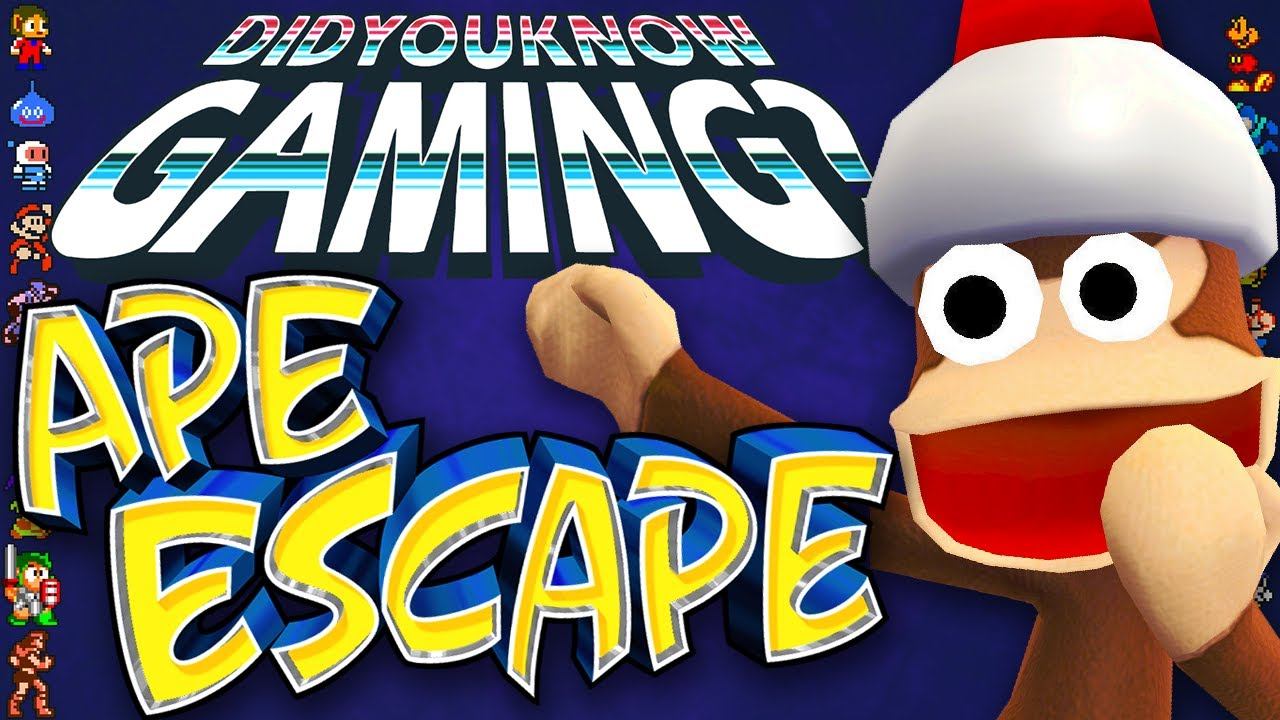 What You Didn't Know about Ape Escape