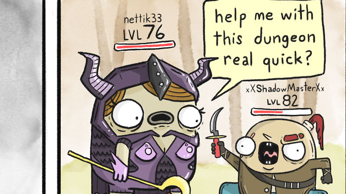 Basically Every MMO Ever