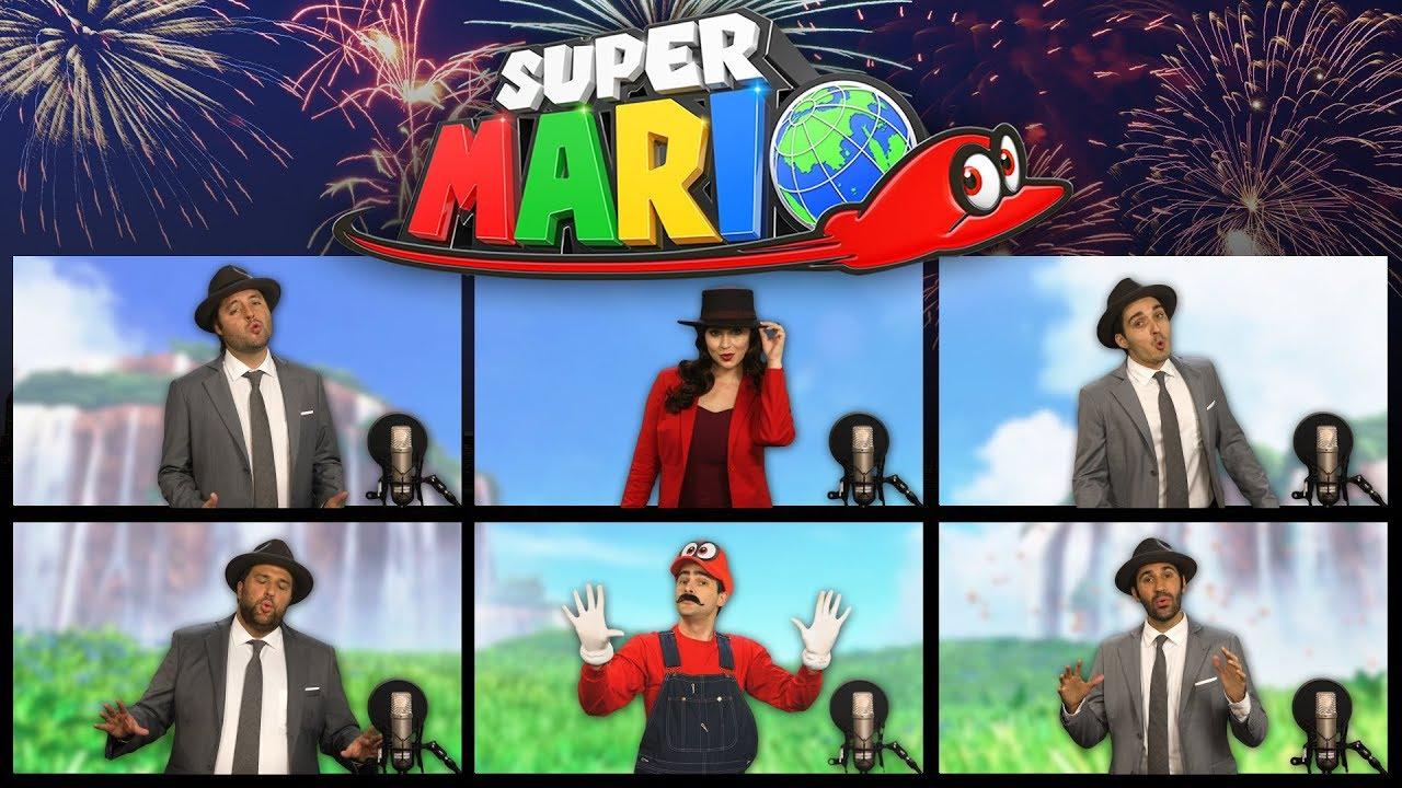 Super Mario Odyssey A Cappella!