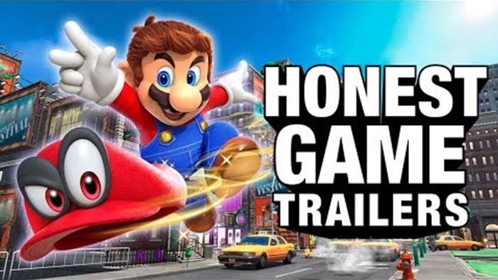 An Honest Super Mario Odyssey Game Trailer