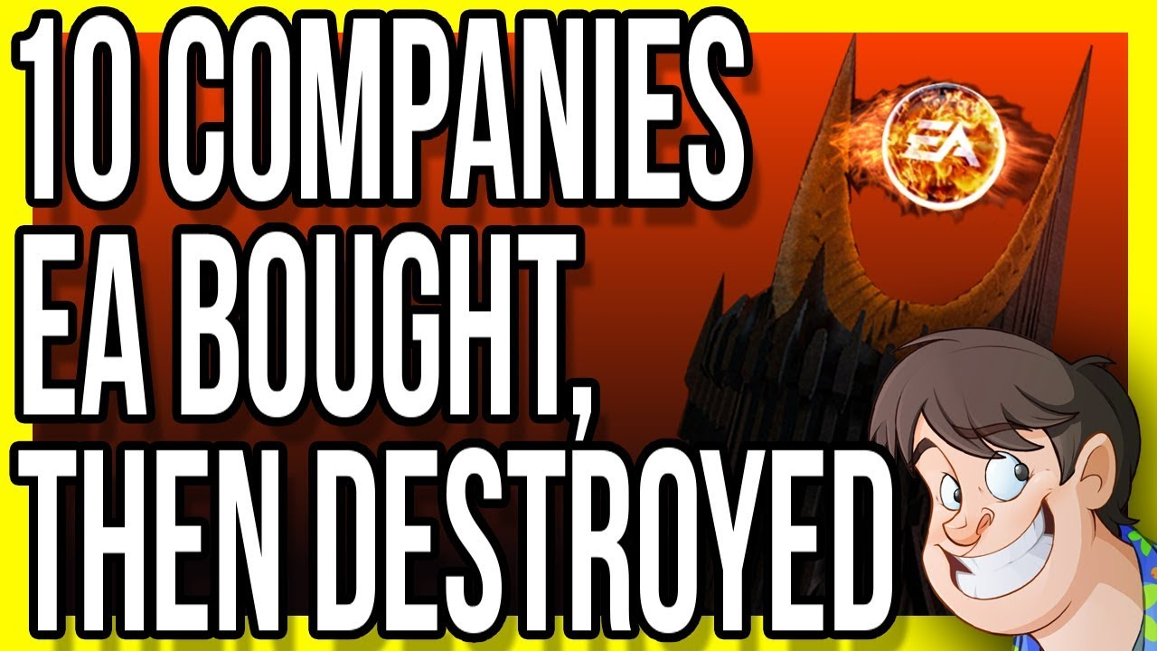 10 Companies EA Bought & Then Destroyed!!!