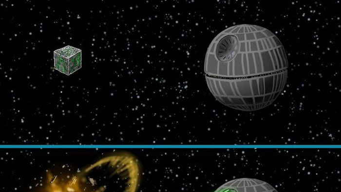 Borg vs. the Death Star