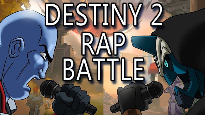 Destiny 2 Rap Battle