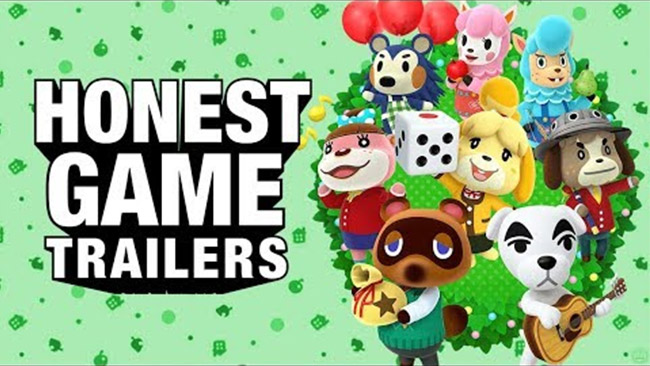 An Honest Animal Crossing Game Trailer