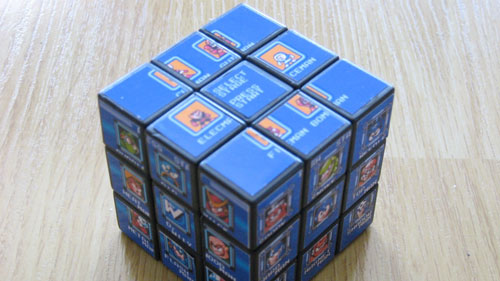 Mega Man Boss Cube