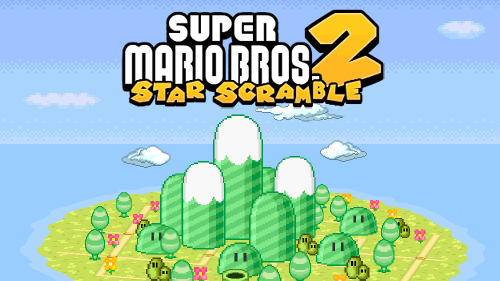 Super Mario Bros. Star Scramble 2