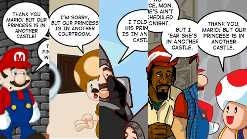 Another Castle: The Joke