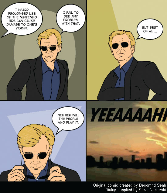 Nintendo 3DS - CSI Miami