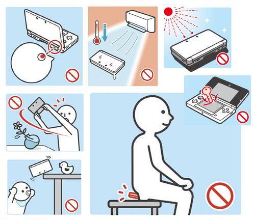 Nintendo 3DS instructions