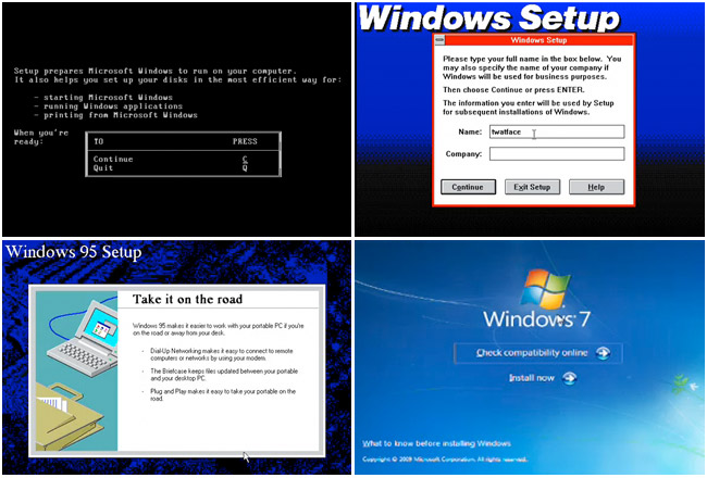 Upgrading Through Every Version of Windows