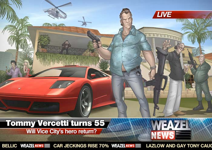 Vice City 2011 - Tommy Vercetti Turns 55