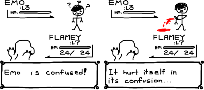 Emo is Confused