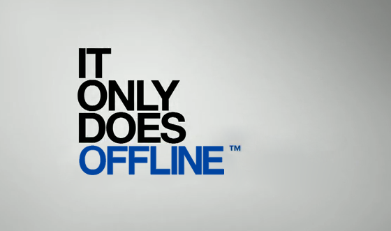 It Only Does Offline