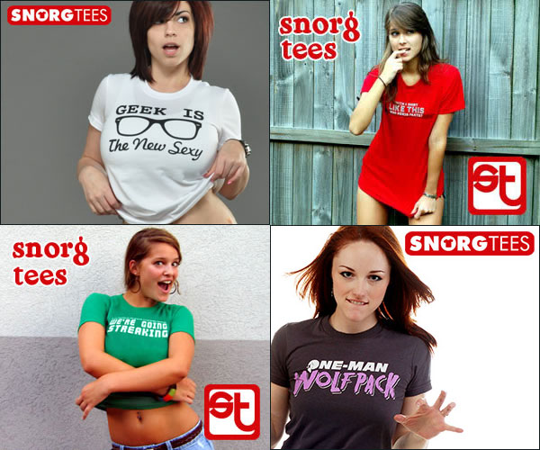 SnorgTees ads are really spank material