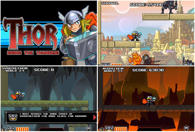 Thor: Bring the Thunder! – Fun, Free, Flash Game