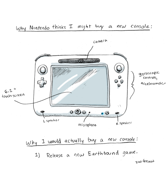 Dear Nintendo, How to Sell Me on a New Console